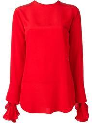 cuff detailing longsleeved blouse Nina Ricci
