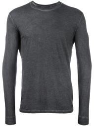 футболка с длинными рукавами и круглым вырезом Majestic Filatures