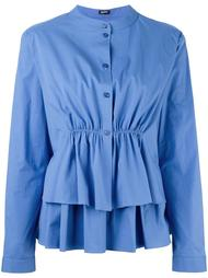 ruffled tiered blouse Jil Sander Navy