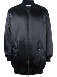 куртка-бомбер свободного кроя Lucio Vanotti