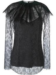 блузка со съемным воротником  Nina Ricci