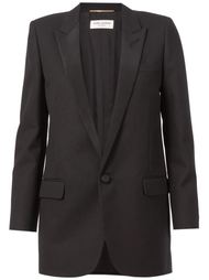 пиджак с заостренными лацканами Saint Laurent