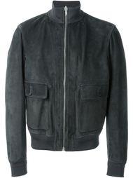 куртка-бомбер на молнии  Alexander McQueen