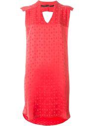 Платье свободного кроя с узором в звезды 8pm
