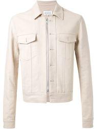 джинсовая куртка на молнии Maison Margiela