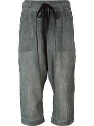 укороченные брюки с заниженной шаговой линией  Lost & Found Rooms