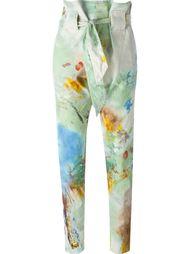 брюки с принтом Vivienne Westwood Anglomania