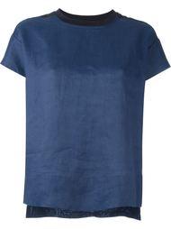 двухцветная футболка  Dkny Pure