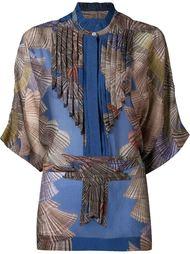 блузка с плиссированными панелями Scanlan Theodore