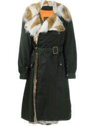 пальто с меховой отделкой  Mr & Mrs Italy