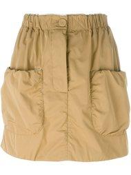мини-юбка с накладными карманами J.W.Anderson