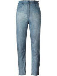выбеленные джинсы  Fendi Vintage