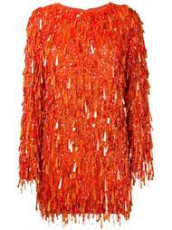 платье с пайетками 'Casino'  Ashish