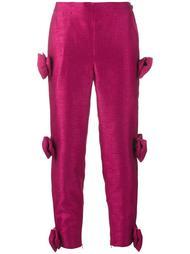 декорированные укороченные брюки Ashish