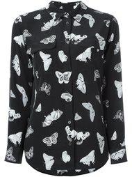 рубашка с принтом бабочек  Equipment