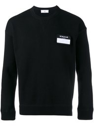 свитер с логотипом  Ami Alexandre Mattiussi