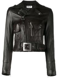 укороченная куртка  Saint Laurent