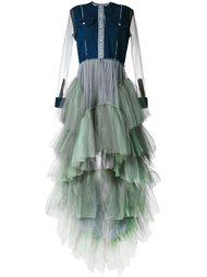 тюлевое платье с многослойным подолом Natasha Zinko