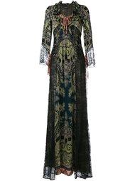 кружевное платье  Etro
