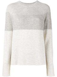 свитер в стиле колор-блок  Vince