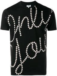футболка с принтом 'Only You' Kenzo