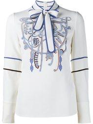 декорированная блузка Peter Pilotto