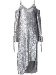 платье с пайетками Magda Butrym