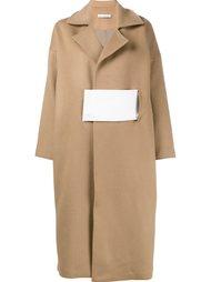 трехцветное пальто Rejina Pyo