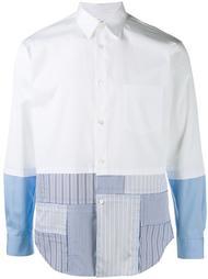 рубашка в стиле пэчворк  Comme Des Garçons Shirt Boy