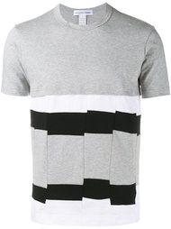 футболка с панельным дизайном  Comme Des Garçons Shirt