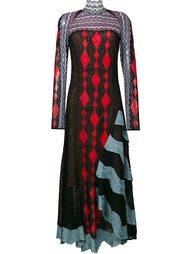 жаккардовое платье  Peter Pilotto