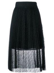 прозрачная плиссированная юбка Philosophy Di Lorenzo Serafini