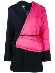пальто в стиле колор-блок  Jacquemus