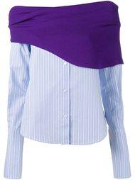 блузка в стиле колор-блок  Jacquemus