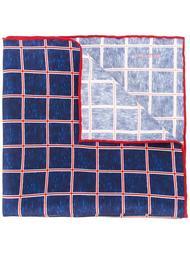 платок паше в клетку Kiton
