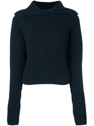 пуловер 'Felted Knit'  Carven