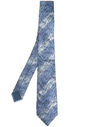 полосатый галстук Lanvin