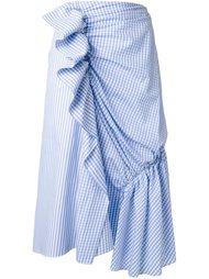 драпированная юбка  J.W.Anderson