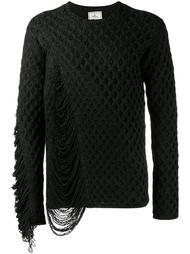 фактурный вязаный свитер  Miharayasuhiro