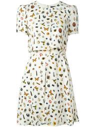 платье 'Obsession'  Alexander McQueen