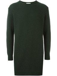 удлиненный фактурный свитер 'Wiese' Soulland
