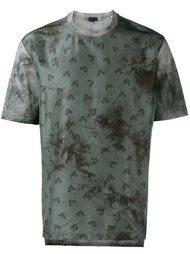 футболка с растительным рисунком Lanvin
