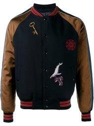 университетская куртка с аппликациями Lanvin