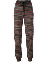 спортивные брюки с узором M Missoni