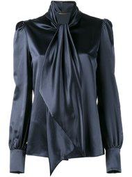 блузка на завязке  Saint Laurent