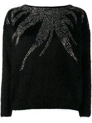 декорированный джемпер  Saint Laurent