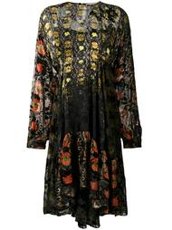 платье миди с узором Preen By Thornton Bregazzi