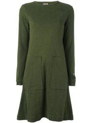 платье-футболка с накладными карманами Walter Van Beirendonck Vintage