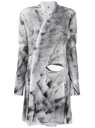 woven cardi-coat Lost & Found Ria Dunn
