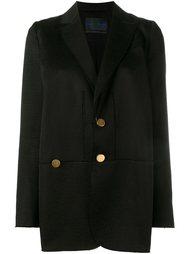 raw edge oversized jacket Proenza Schouler